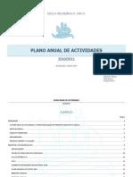 Plano Anual de Actividades 2010 - 2011