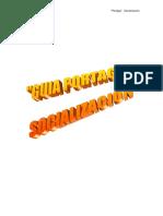 Guía Portage. Socialización