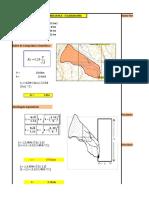 Parámetros de Las Unidades Hidrográficas Del Proyecto