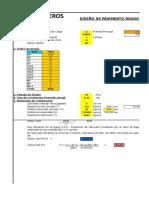 2. Diseño de Pavimemto Rigido-modelo(Cieza)