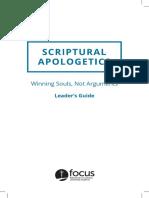 apologetics leader guide