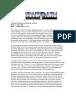 Vitreous Postmortem Chemical Analysis