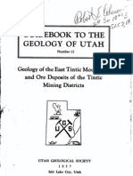 UGS Guidebook 12 Geo of East Tintic Mtns and Ore Dep of Tintic Mining District
