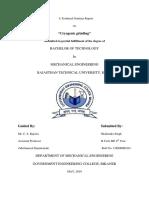 Seminar Report Shailendra