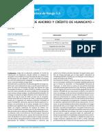 CmacHuanca Informacion Del 2019 ( Buena Informacion)