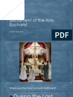 Sacrament of the Holy Eucharist