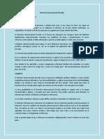 Derecho Internacional Privado - Resumen III