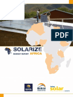 Intersolar Solarize Africa Market Report 2019
