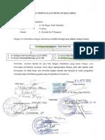 Surat Pernyataan Silsilah Keluarga Tahun 2012 Prof Dr IBG Manuaba