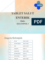 Ppt Kelompok 3 Tablet Salut Enterik