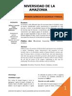 1ER INFORME. algunas propiedades químicas de los alcoholes y fenoles.docx