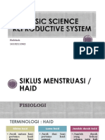 Basic Science Reproductive System
