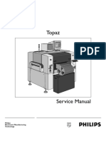 PA 1309_10. Topaz. Service Manual TRAD. Philips Electronic Manufacturing Technology