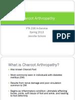 Charcot Arthropathy Js Chore