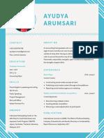 Resume Ayudya Arumsari