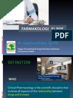 Kp 1.6.6.10 Farmakologi Klinik