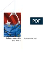 Turkey's relationship with the EU