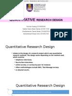 EDU702 Quantitative Research