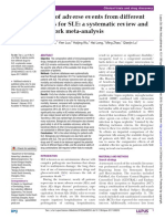 Risk of Adverse Events From Different Drugs for SLE a Systematic Review and Network Meta-Analysis.