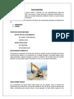 Excavadoras, Bulldozers, Cargador Frontal