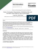 Study of Adsorption Characteristics of Methylene Blue onto.pdf