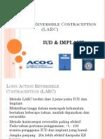 Long Acting Reversible Contraception (LARC).ppt