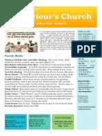 st saviours newsletter - 19 may 2019 -  easter v