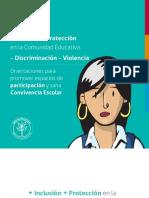 Cartilla Más Inclusión y Menos Discriminación en Establecimientos Educacionales