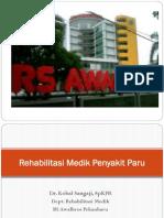 Rehabilitasi Medik Penyakit Paru