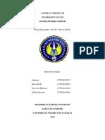 Laporan Standart Evaluasi