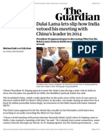 Dalai Lama lets slip how India vetoed his meeting with China's leader in 2014   World news   The Guardian.pdf