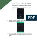 Prosedur Pembuatan Project Menggunakan Aplikasi