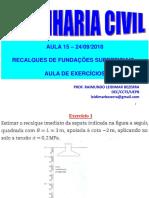 Aula 15_24-09-2018_Recalques - Aula de Exercícios.pdf