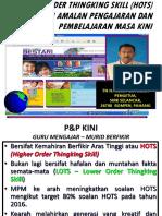 HIGER ORDER THINGKING SKILL HOTS (2014).ppt