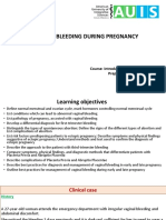 7. Vaginal Bleeding During Pregnancy