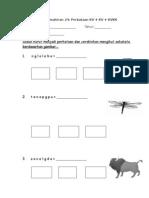 lembaran kerja kemahiran 24 perkataan kv kv kvkk