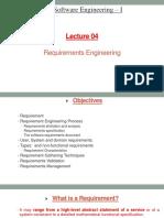 SE Lecture 4