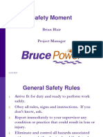 Bruce Power Safety Expectations 25OCT2010