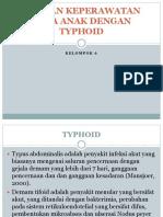 Asuhan Keperawatan Pada Anak Dengan Typhoid