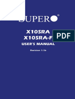 Supermicro X10SRA F Manual