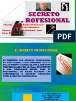 Secreto Profesional en Enfermeria