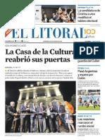 El Litoral Mañana 19/05/2019