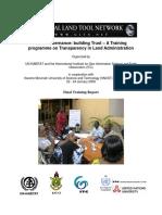 21 Final Report TLA Training Ghana