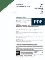 Ensayos Sintéticos de Interruptores Automaticos Para Corriente Alterna de Alta Tensión-60427