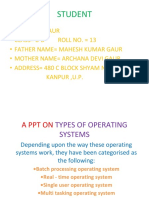 A Ppt on Types of Operating Systems by Divyansh Gaur.pptx