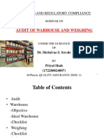 3. warehouse audit.pptx