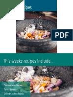 Recipes January Week 2