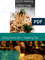 Going Out to Eat Traveling Tips