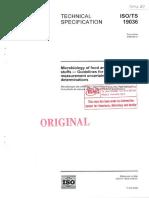 NN21 - ISO 19036 - Microbiology of food animal feeding stuffs