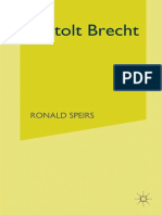 (Macmillan Modern Dramatists) Ronald Speirs (auth.) - Bertolt Brecht-Macmillan Education UK (1987).pdf